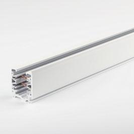 3-Phasen Stromschiene Aluminium weiß 1 Meter 220-240V/16A