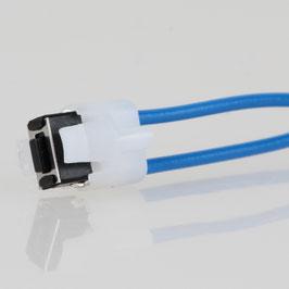 Taster für Pouls-Dimmer mit Kabel 150mm lang in blau