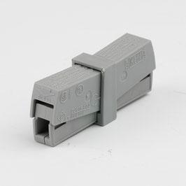 Wago 224-201 Service-Steckklemme 2-polig für Leiter bis 2,5mm²