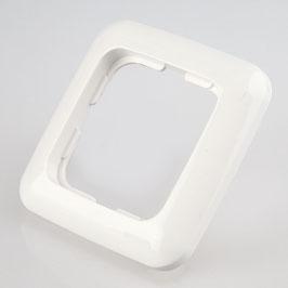 Abdeckrahmen 1-fach KLEIN SI Serie reinweiß 50x50 mm