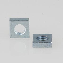 M4 Vierkantmutter Metall verzinkt DIN 562