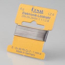 Lötzinn Ø 1 mm, Wickel 1 m / 6 g LZ6