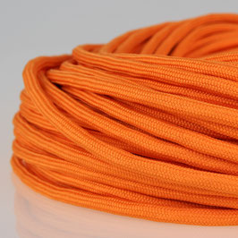 Textilkabel Stoffkabel orange 2-adrig 2x0,75 Zug-Pendelleitung S03RT-F