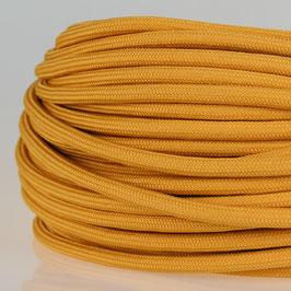 Textilkabel Stoffkabel beige 3-adrig 3x0,75 Zug-Pendelleitung S03RT-F 3G0,75