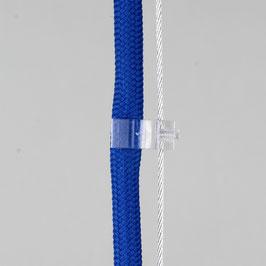 Lampenkabel Seilhalter-Clip für Kabel 5-6,5mm + Drahtseil 1-2mm