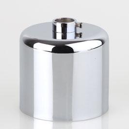 Lampen Baldachin 62x63mm Metall Zylinderform mit Stellring fuer 13mm Pendelrohr