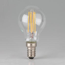 Osram LED Filament Leuchtmittel 4W 240V Tropfen-Form klar E14 Sockel warmweiß