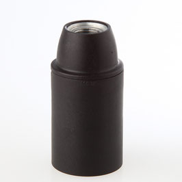 E14 Thermoplast Fassung Glattmantel M10x1 IG