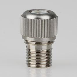 Zugentlaster Metall 3-teilig mit M10x1 Außengewinde