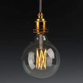 Danlamp E27 Vintage Deko LED Mega Edison Lampe 125mm 240V/4W