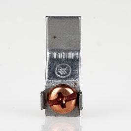 Erdlasche zum Anpunkten 8x22mm Metall roh unbehandelt