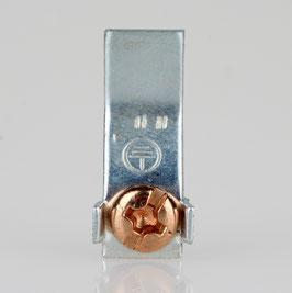 Erdlasche zum Anpunkten 8x22mm Metall verzinkt