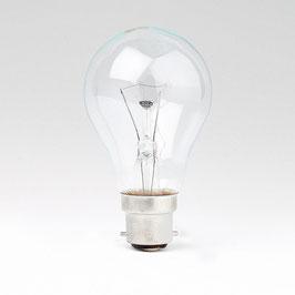 B22 Standard Glühlampe 60 Watt klar