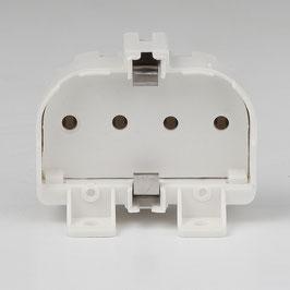 2G11 Sparlampen Anbau-Fassung mit 4 Stift Sockel
