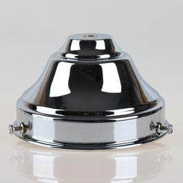 Lampenschirm Glashalter 110x65mm verchromt für E14 und E27 Fassung