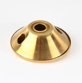2-fach Doppelarmatur 56x18mm Messing für Lampenfassung