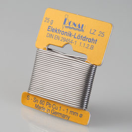 Lötzinn Ø 0,5 mm, Wickel 10 g LZM10