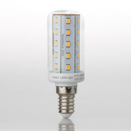 röhrLeds light LED-Röhrenlampe E14/230V/4W (35W) klar 400 lm warmweiß