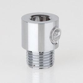 Zugenlastung Klemmnippel Metall M10 Aussengewinde