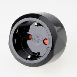 Reisestecker-Adapter Schutzkontakt Deutschland auf Schweiz 10A/250V