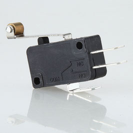Mikroschalter Wechselschalter 1-polig 5A/250V AC mit langem Rollenhebel