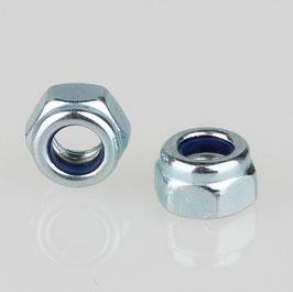 M5 Sechskant Sicherungsmutter Metall verzinkt DIN 985