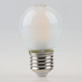 Sigor E27 LED Filament Tropfenlampe matt 4,5W = (40W) 470lm warmweiß dimmbar