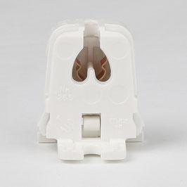 G5 Leuchtstoff-Fassung weiß für T5 Leuchtstofflampen durchsteckbar