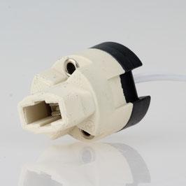 G9 Hochvolt Halogen Lampenfassung mit 15cm PTFE-Leitung