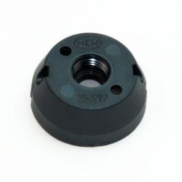 GU10 / GZ10 anschraubbare Isolierhaube M10x1 schwarz