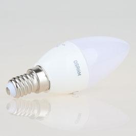 Osram LED Kerzenlampe matt Parathom warmweiss E14/240V/5W (40W) dimmbar