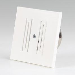Läutewerk Klingel weiß für Unterputz-Dose 8V/AC L80xB80xT42 mm