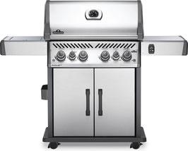 Napoleon barbecue a gas Rogue SE525RSIB con fuoco laterale infrarossi + kit girarrosto gratuito.