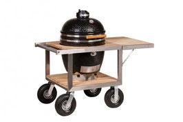 """Monolith carrello barbecue """"BUGGY"""" per i modelli Classic e LeChef incluso ripiano laterale"""