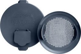 Traeger coperchio per il secchiello in metallo & kit di filtri