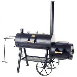 "Joes BBQ Smoker 16"" Longhorn Reverse Flow Smoker"
