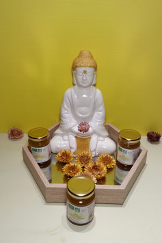 """Nom du produit miel """"précieux"""" d'équinoxe de printemps ou d'automne"""