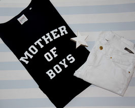 Casual Shirt schwarz MOTHER OF BOYS