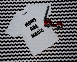 T-Shirt weiss MOMS ARE MAGIC