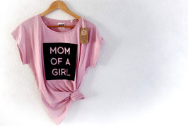 Casual Shirt rosarot MOM OF A GIRL