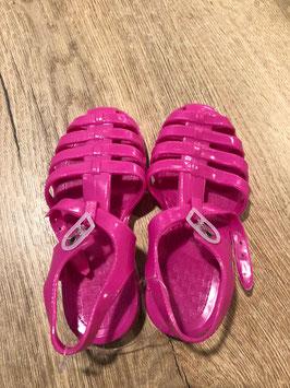 Water schoenen roze