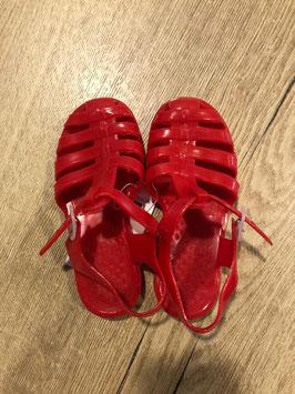 Water schoenen rood