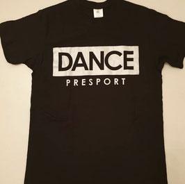 DANCE shirt Zwart/ Glitter