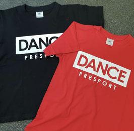 DANCE shirt Rood