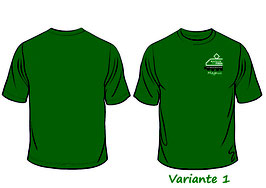 Forum T-Shirt, grün, 100% Baumwolle