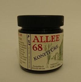 ALLEE 68 Konfitüre aus Pflaumen und ALLEE 68 Gin