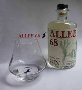 ALLEE 68 Nosing -Glas mit unserem endlen Branding