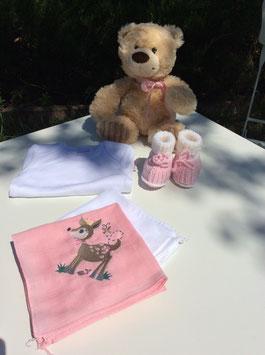 Geschenkset rosa Bambi