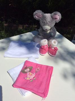 Geschenkset pink Prinzessin