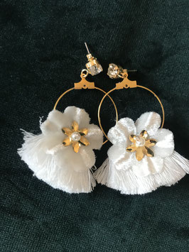 Blüten -Ohrringe
